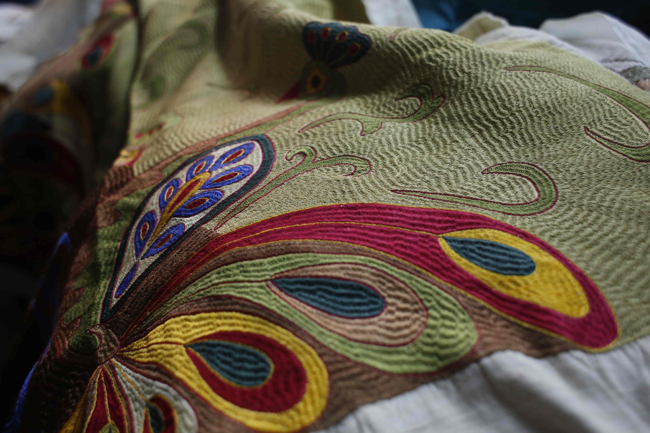 161. Colourful And Embroidered Textiles On Sale-min